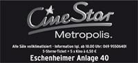 CineStar Metropolis